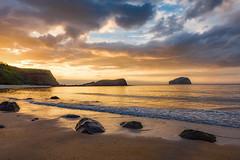 Sunset in Seacliff Beach, North Berwick (Photography Revamp) Tags: sunsetinseacliffbeach northberwick unitedkingdom uk sunset seascape landscape