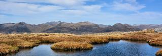 The Ben Nevis mountain range