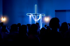 The Cross (grexsysllc) Tags: thecross religion jesus cruxification church gospel nikon nikonphotography blue lowlightphotography silhouette