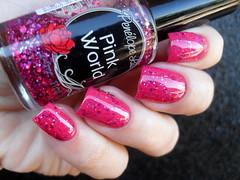 Impala - Brisas + Penélope Luz - Pink World (Barbara Nichols (Babi)) Tags: pl penélopeluz glitter glitterrosa impala brisas nails nailart pink pinknailpolish pinknails pinkglitter