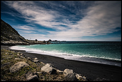 The Palliser Series #3 Mangatoetoe #1 (niggê) Tags: newzealand wairarapacoast northisland southernocean cookstrait tasmansea southpacificocean sonyilce7rm2 sony sonya7rii sonylens sony247028gm fe2470mmf28gm fe2470gm fishing surf beach lagoon wild shingle flotsam jetsam binkiebickerton cloudsstormssunsetssunrises mangatoetoe howlingwind squall