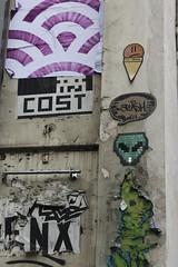Mr Djoul + You Jeez_5610 rue du Faubourg du Temple Paris 11 (meuh1246) Tags: streetart paris mosaïque mrdjoul youjeez ruedufaubourgdutemple alien paris11