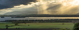 Skies over Loch Leven