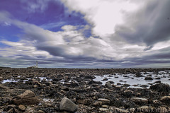 St Marys Lighthouse (sidrog28) Tags: st marys lighthouse rocks clouds sky blue whitley bay newcastle long exposure nikon