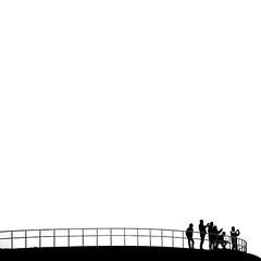 *click* (pixiespark) Tags: iceland island godafoss tourists touristen bw schwarzweis graphic grafisch minimalist minimalistisch click