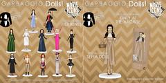 Garbaggio Dolls Movie Icons Collection Gacha Key + Reward (Ashleey Andrew) Tags: garbaggio sl secondlife second life virtual world original mesh dolls gacha toys
