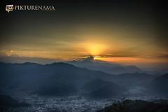 sarangkot- sunrise-14 p logo (anindya0909) Tags: nepal sarangkot sunise sunrise