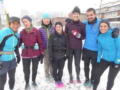 "Running Room (Slater St) February 5, 2017 - P1080371 (ianhun2009) Tags: runningroom ottawaontariocanada winterrunning ""february5 2017"" ""running room slater street"" ""marathon clinic"" training run"" ""cold running"""