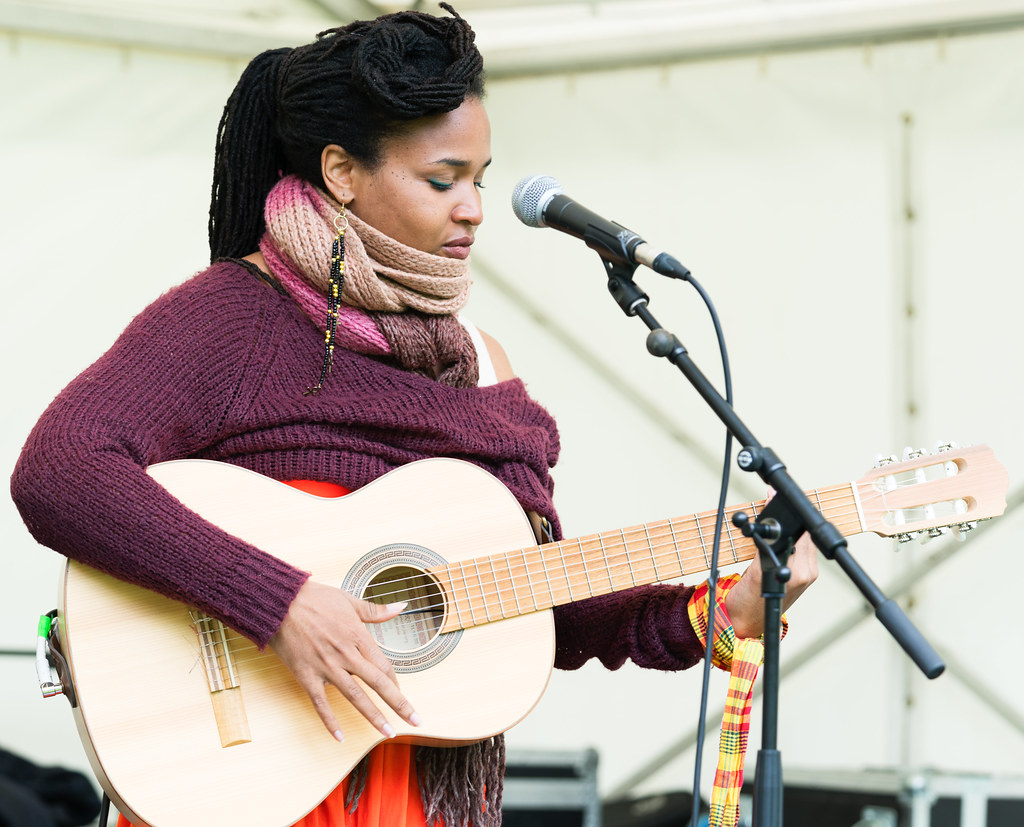 Ines Khai Performing At Africa Day In Dublin [ The Artist Is From Anse Bertrand, Guadeloupe]-128581
