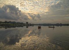 Epic Sunrise @ Lower Seletar Reservoir, Singapore (gintks) Tags: gintaygintks gintks singapore singaporetourismboard yoursingapore exploresingapore reflection landscapes epicsunrise