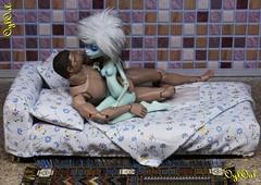№453. Bedclothes 1:6 (OylOul) Tags: 16 action figure damtoys hottoys custom monster high doll