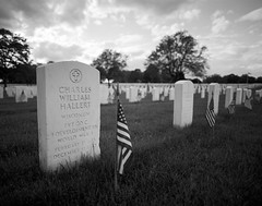 Wood National Cemetery (James Feller) Tags: 45mm d76 ilfordfp4plus milwaukeewi pentax67ii tf5 woodnationalcemetery f4