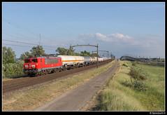 DBC 1604 - 61702 (Spoorpunt.nl) Tags: 31 mei 2017 moerdijkbrug willemsdorp dbc db cargo 1604 unit trein 61702 ketel wagens