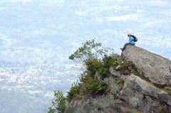 Hiker on top of Cerro Quinini (Aztlek) Tags: caminate hiker cerrodelquniní montañadelaluna trekking hiking senderismo caminata ufraw ilovenature nikond7000 nikon d7000 gp1 gpsunitgp1 gps nikongpsunit gpsunit photography fotografía caminantesdelretorno