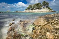Ile de Perharidy (http://arnaudballay.wix.com/photographie) Tags: 2017 29 finistère mer nikond610 santec roscoff bretagne france fr penarbed brittany island ile perharidy wave vague sea ocean beach nd1000 nisifilter leefilter gndfilter