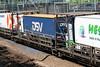 7184 Cheriton 100517 (Dan86401) Tags: 7184 eurotunnel europorte leshuttle channeltunnel hgvcarrier bredafiat wagon flat freightshuttle cheriton dsv
