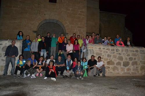 Marcha nocturna de Senderismo por Burgos Fotografia Maria Jesus (4)