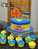 Play-Doh Themed Cake (bsheridan1959) Tags: playdohcake cake birthdaycake kidscake cupcakes playdoh