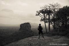 DSC_2093 (UdeshiG) Tags: srilanka sigiriya pidurangala hike nikon views travel explore blackandwhite friends
