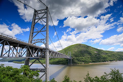 Bear Mountain Bridge (Jemlnlx) Tags: canon eos 5d mark iv 4 5d4 5div ef 1635mm f4 l is usm wide angle zoom lens new york state nys parks bear mountain empire park ny landscape tiffen bw gnd graduated neutral density filter filters circular polarizer polarizing stacked bridge hudson river