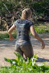 Wolfrun, Saturday 8th April 2017. (David James Clelford Photography) Tags: wolfrun saturday8thapril2017 femaleathlete sportylady curvaceousbody wetgirl wetlady dirtygirl dirtylady prettywoman ass bum butt buttocks booty rear derriere behind