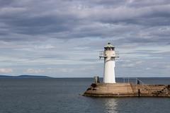 The Lighthouse (Housemill) Tags: lighthouse water vättern vatten fyr moln clouds cloudy pier pir hjo darkclouds sweden sverige canoneos750d canonef50mmf18stm canon 50mm canonrebelt6i