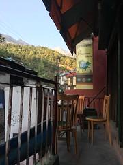 Peace Cafe (misterworthington) Tags: dharamkot iyengar yoga himalayaniyengaryogacentre india bhagsu mcleod ganj pradesh hiyogacentre