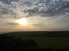 Evening (My photos live here) Tags: eastbourne east sussex england i phone 5s beachy head downland estate sunset clouds evening chalk south downs national park