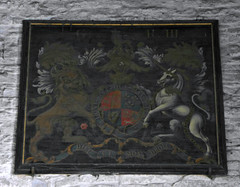 Royal Arms, Norton (Aidan McRae Thomson) Tags: norton church worcestershire royalarms painting heraldic