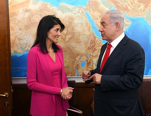Ambassador Nikki Haley,