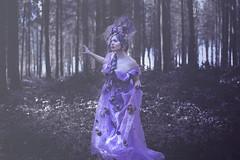 Regina Proserpina (Pauline L photographe) Tags: darkfairytale fantasy fineart fineartphotography fineartphotographer flowers fairydream fairytale fairy flower fantastique purple portrait canonfrance canon5dmarkii