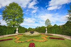 Schonbrunn gardens. Vienna.