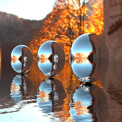 Reflections (bloorose-thanks 4 all the faves!!) Tags: spheres autumn bryce hdri surreal