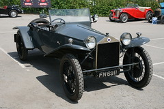 1925 Lancia Lambda Roadster (davocano) Tags: fn6911 brooklands doubletwelvemotorfestival