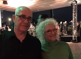 Art consultants Mooli and Tami Katz-Freiman at the Jorge Perez Collection of Cuban art opening at PAMM