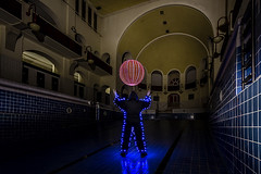 EMD #300 - Catch the ball (Electrical Movements in the Dark) Tags: lightartperformancephotography lapp electricalmovementsinthedark emdlight artlight paintinglight art photographylong exposure