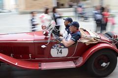 Alfa Rome 6C 1750 Gran Sport (1931) (AleMex66) Tags: 1000 millemiglia rieti brescia historic history legend motorsport motori roma alfaromeo bugatti fiat lemans brianza mm d7000 nikonclub nn nikon astonmartin