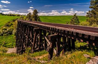 Camas Prairie Railroad Pt. 1 - Grangeville to Ferdinand