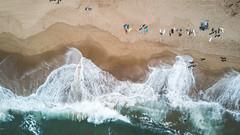DJI_0037 (Simon_bele) Tags: drone beach beachbreak shorebreak surfing france aerial sand nature vanlife blue ocean