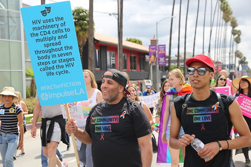 Los Angeles Pride Resist March 2017