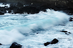 Marina (Anagarciatorroba) Tags: agua oceano ola oleaje water ocean atlantic wave blue seascape sea longexposure tenerife
