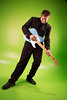 Alex 2 (Henrybailliebro) Tags: male guitar rock green screen backround suit roll model key