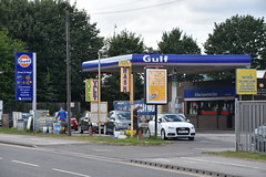 Gulf, Featherstone West Yorkshire. (EYBusman) Tags: gulf petrol gas gasoline filling service station garage featherstone west yorkshire pontefract road texaco certas eybusman