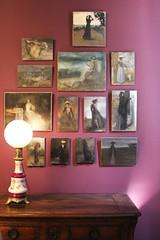 JOUR 133 Lumière feutrée. (Anne-Christelle) Tags: musée bourdelle tableaux art lumière light projet365 365project luminaire toile