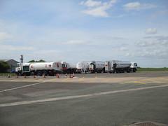 Photo of Fuel trucks.