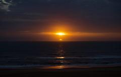 Nuclear Sunrise (JBIronWorks) Tags: d60 nikon virginiabeach va vabeach virginia nuclear sunrise waves clouds