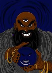 magosq333 (VINXS 19998) Tags: magos ilustração vetor digital paint art brazil artists acid devils caos hunters martin
