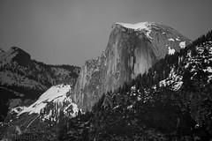 Yosemite - Half Dome (nebulous 1) Tags: halfdome tunnelview yosemitenationalpark bw glene nikon nebulous1