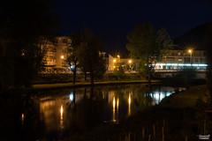 Lungo il fiume (Gianluca Vannicelli) Tags: nikon landscape landscapephotography nikond4 notte night longexposition fiume velino fiumevelino rieti luci scorrere