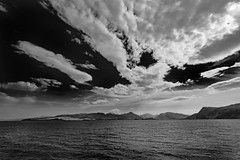 Mallaig to Skye (Mister Oy) Tags: davegreen oyphotos ©oyphotos mallaig skye isle scotland sky landscape seascape fujixpro2 fuji1024mm ferry knoydart wild bigsky